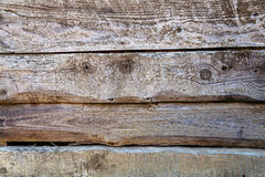 Oud, grunge houten panelen Royalty-vrije Stock Fotografie