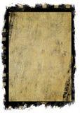 Oud grungecanvas met filmstrook Stock Afbeelding