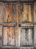 Oud grunged houten venster Royalty-vrije Stock Foto's