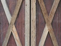 Oud grunged houten venster Stock Afbeelding