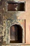 Oud grungy gebied Stock Foto