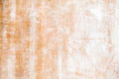 Oud grungy triplex met witte verf stock afbeeldingen