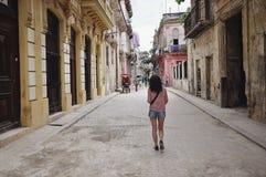 Oud Havana, Cuba Royalty-vrije Stock Fotografie