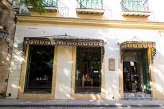 Oud Havana - La Habana Vieja - Cuba royalty-vrije stock fotografie