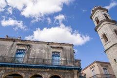 Oud Havana - La Habana Vieja - Cuba stock afbeeldingen