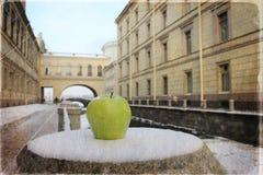 Oud heilige-Petersburg, Rusland Stock Afbeelding