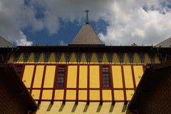 Oud herenhuis stock foto