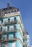 Oud herenhuis in Kyiv Stock Foto's