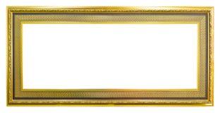 Oud het beeldframe van de stijl gouden foto royalty-vrije stock foto