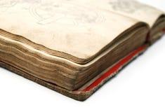 Oud het boek Royalty-vrije Stock Afbeelding