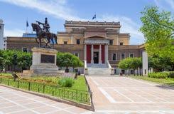 Oud het Parlement Huis, Athene, Griekenland Royalty-vrije Stock Foto