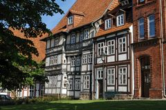 Oud Hildesheim royalty-vrije stock afbeelding