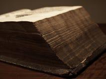 Oud historisch boek Royalty-vrije Stock Foto's