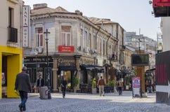 Oud historisch centrum Boekarest Royalty-vrije Stock Afbeelding