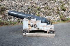 Oud historisch kanon Stock Foto