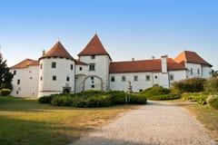 Oud historisch kasteel in Varazdin Royalty-vrije Stock Fotografie