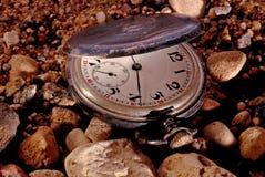 Oud horloge Royalty-vrije Stock Foto's