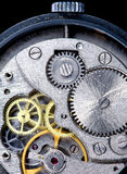 Oud horloge Stock Afbeeldingen