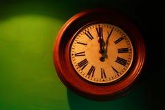 Oud horloge stock afbeelding
