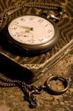 Oud horloge Royalty-vrije Stock Afbeelding