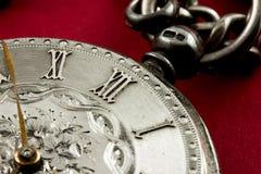 Oud horloge, tijdconcept Stock Afbeeldingen