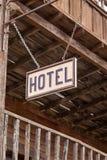 Oud hotel Stock Foto's