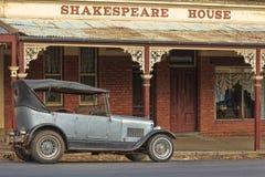 Oud hotel in Maldon, Vic australië Stock Afbeelding