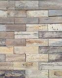 Oud hout voor binnenland en achtergrond Voor verfraai Stock Afbeelding