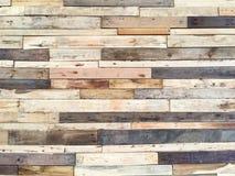 Oud hout voor binnenland en achtergrond Voor verfraai Stock Foto