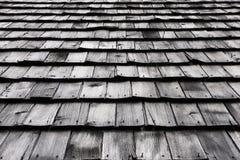 Oud houten dak Royalty-vrije Stock Fotografie