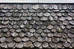 Oud houten dak royalty-vrije stock afbeelding