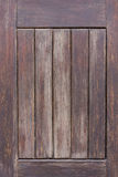 Oud houten deurpaneel Royalty-vrije Stock Afbeelding
