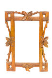 Oud houten frame Royalty-vrije Stock Afbeelding
