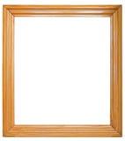 Oud houten frame Stock Foto's