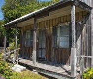 Oud houten huis Royalty-vrije Stock Afbeeldingen
