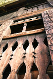 Oud houten huis Stock Foto's