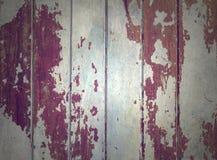 Oud, houten, knapperde bureau Stock Fotografie
