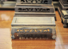 Oud houten meubilair Stock Afbeelding