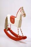 Oud houten paard Royalty-vrije Stock Afbeelding