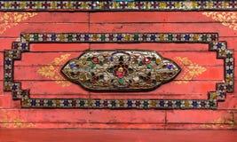 Oud houten plafond Stock Fotografie