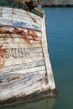 Oud houten schip stock foto's