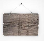Oud houten teken Stock Foto's