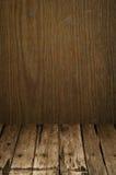 Oud houten textuurbehang Stock Foto