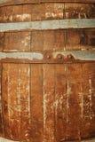 Oud houten vaatje Stock Fotografie