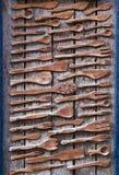 Oud houten vaatwerk Royalty-vrije Stock Foto