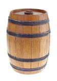 Oud houten vat. royalty-vrije stock fotografie