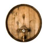 Oud houten vat Stock Afbeelding