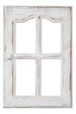 Oud houten Venster Royalty-vrije Stock Foto