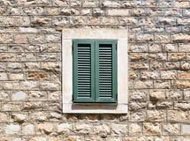 Oud houten venster Royalty-vrije Stock Afbeeldingen