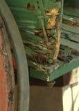 Oud houten vervoer Royalty-vrije Stock Foto's